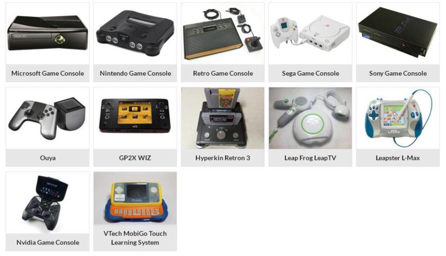 Gaming Console Allen