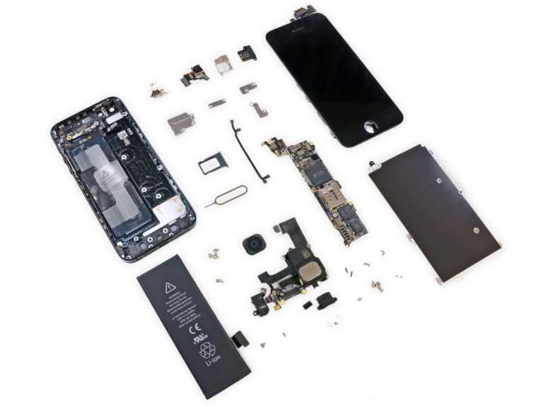iphone 5-teardown allen'