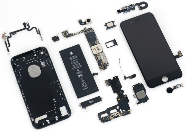iPhone 7-teardown Allen