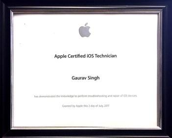 Apple Certified IOS Technician