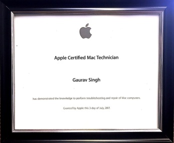 Apple Certified Mac Technician